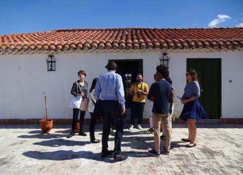 Gruppe vor Casa Humboldt