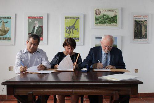 Vertragsunterzeichnung BBAW und OHCH