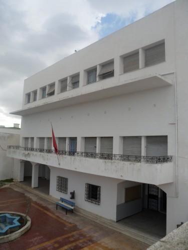 Fig. 6 façade principale maison Habib Bourguiba