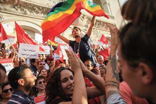 Médias et homosexualité en Tunisie : de la réclusion du monde virtuel à l'institutionnalisation de la cause homosexuelle
