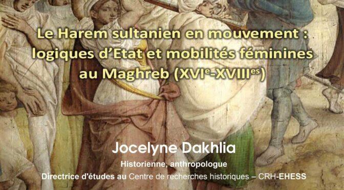 Le harem sultanien en mouvement, une autre Vision du féminin dans l'histoire du Maghreb
