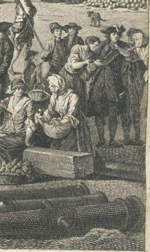 Claude Joseph Vernet, vue du Port (Marseille, Archives municipales, 11 Fi 10)