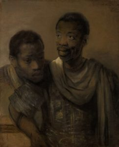 Rembrandt van Rijn, Two African Men, 1661