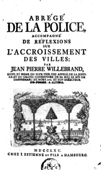 Cover page of Abrégé de la police