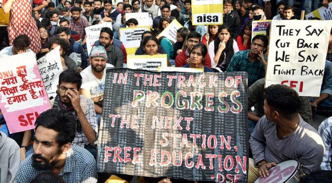 Les campus au cœur des luttes sociales