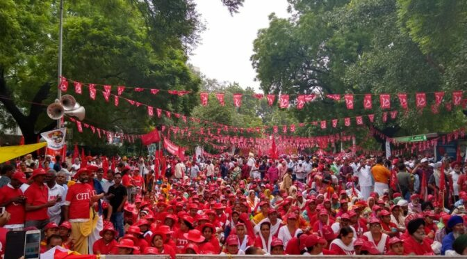 In India, peasants and workers are united against the Modi government