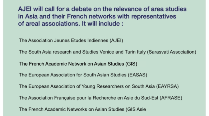 INDIA MATTERS : FORUM OF ASSOCIATIONS FOR SOUTH ASIAN STUDIES ON 6 APRIL 2021