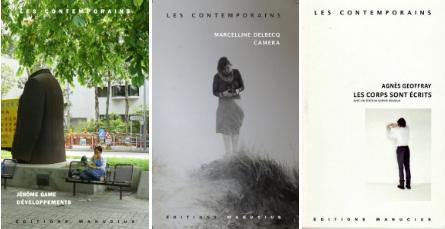 Signatures Les Contemporains (Delbecq, Game & Geoffray) – 12 novembre Librairie Libralire (Paris 11e)