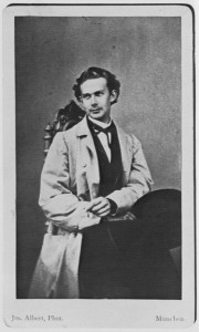 Joseph Albert - Porträtstudie von König Ludwig II, 1862