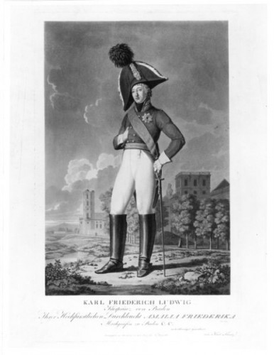 Karl Kuntz - Karl Ludwig Erbprinz. v. Baden 1755-1801, 19. Jh.