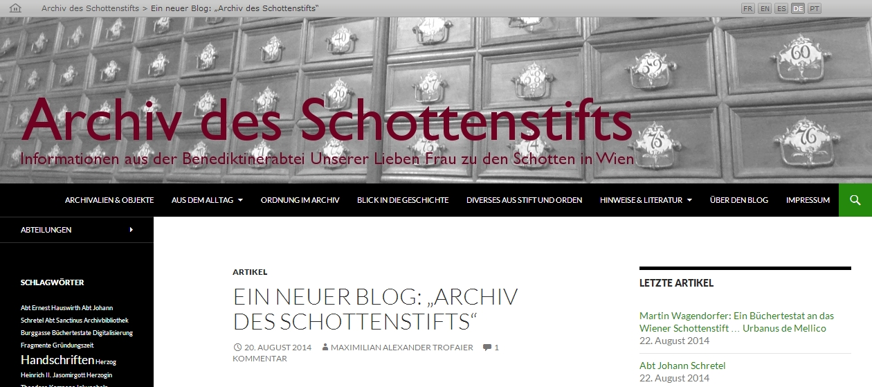 ArchivSchottenstift