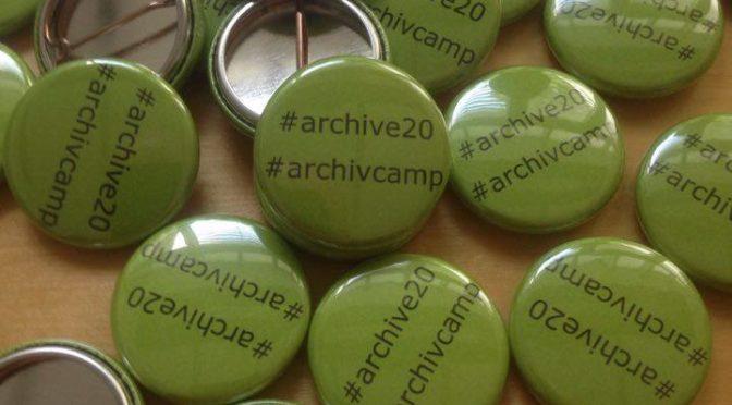 ArchivCamp: Die Sessionvorschläge