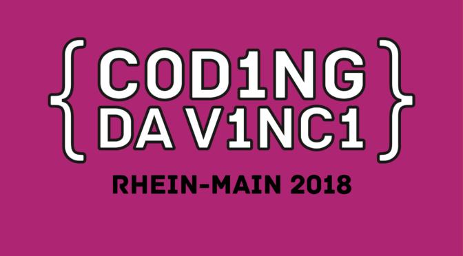1. Dezember 2018: Hacker*innen und Archivdaten? Tickets für Coding da Vinci-Preisverleihung