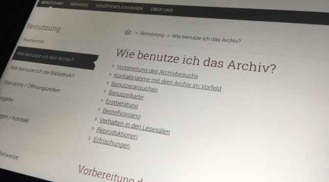 Nicht offen genug: das österreichische Staatsarchiv in der Krise