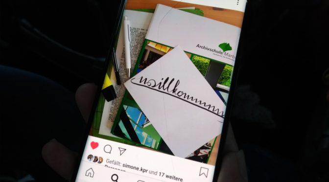 Marburger Studienalltag jetzt auf Instagram