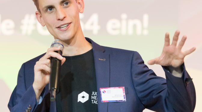 Auf dem Podium: Bernd Fiedler, Moderator (Vorschau Offene Archive 2019, 15)