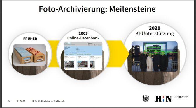 KI-gestützte Erschließung im EGovernment-Wettbewerb: Stadtarchiv Heilbronn bittet um Unterstützung