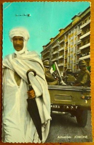 Carte postale 1962 © Agence Jomone, Archives Cohen-Addad, IHTP.