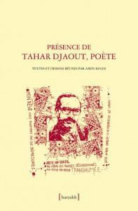 Couverture de l'ouvrage paru cette année aux Éditions Barzakh et consacré à Tahar Djaout, illustration de Denis Martinez.