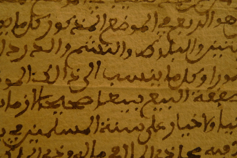 Détail d'un acte de propriété remis à l'administration pour éviter le séquestre d'un terre forestière du Bou Djurdjura, Archives nationales d'Alger