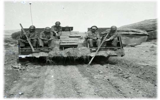 La guerre après la guerre. La fin des opérations de déminage lancées en 1963