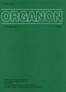 Organon, 51-2019