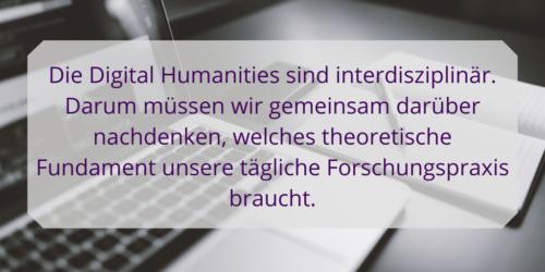 DH Theorien - über interdisziplinäre Grenzen hinweig, gemeinsam nach einem theoretischen Fundament forschen. #wissenschaft #DigitalHumanities
