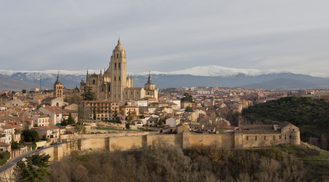 Segovia desde el Alcazar.