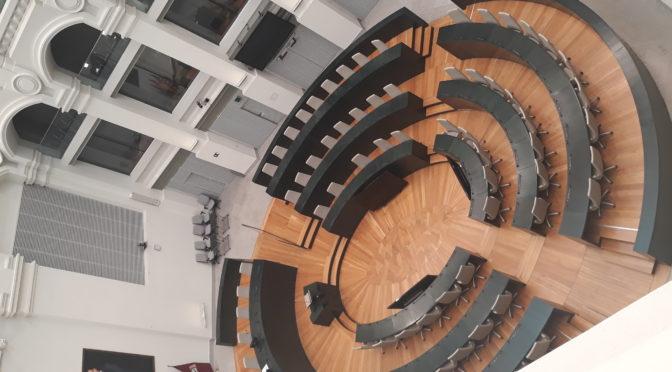 Sala de plenos Ayuntamiento de Madrid