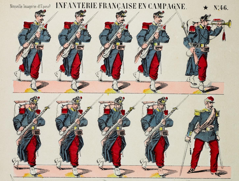Image d'Epinal (détail). Musée de Bretagne: 2013.0000.86.