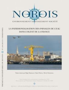 Parution du dernier numéro de la revue Norois – La patrimonialisation des paysages de l'eau dans l'Ouest de la France