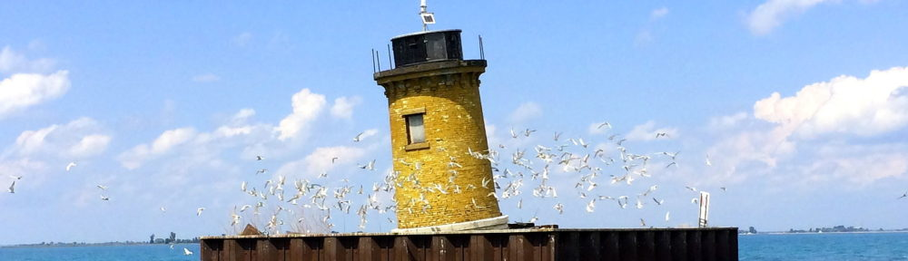 One lighthouse on Lake St Clair, by David Soussan, 2014