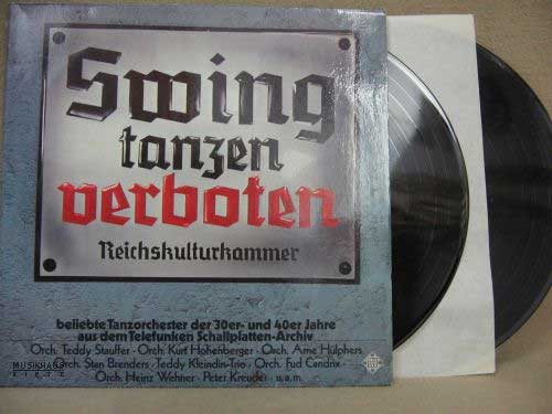 "LP-Cover ""Swing tanzen verboten"""