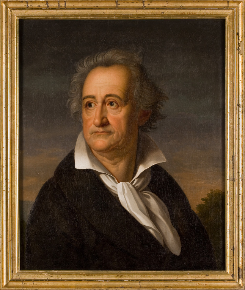 Heinrich Christoph Kolbe - Johann Wolfang von Goethe, 1822, Wallraf-Richartz-Museum