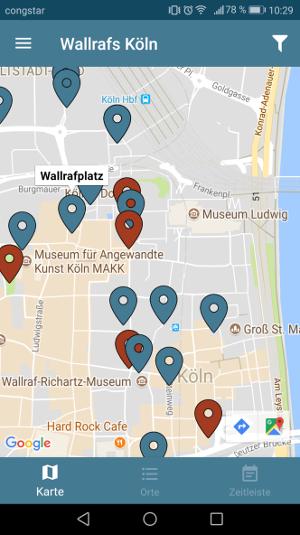 Der Platz mitten in der City, Grafik: Uni Köln