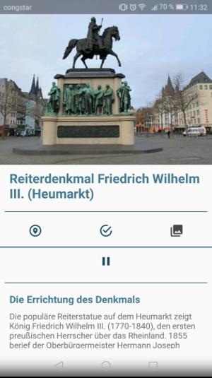 Infos zum Reiterdenkmal, Grafik: Uni Köln