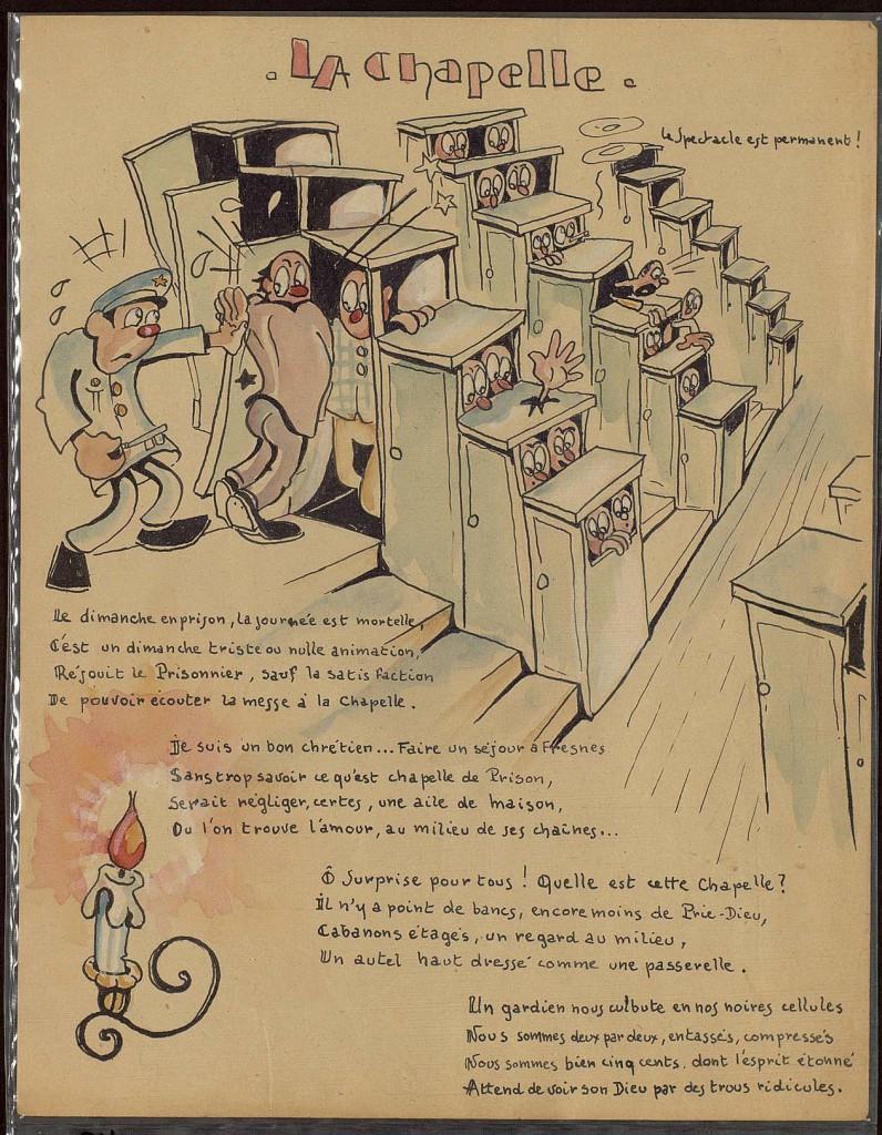Evocation de l'emprisonnement. Médiathèque Gabriel Tarde. ENAP. Agen