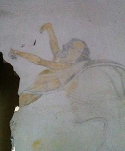 Château de Gaillon / Graffiti (photos J-C V)