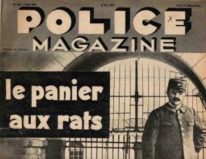Police magazine 1939. maison centrale de Fontevrault