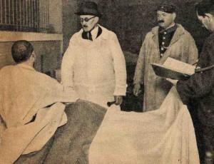 Infirmerie de la maison centrale de Fontevrault en 1939