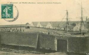 Vue de la colonie pénitentiaire de Belle-Île-en-Mer