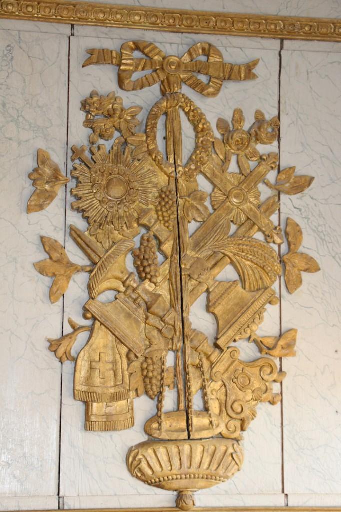 Aspect de la décoration de la chapelle