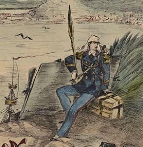 Album de dessins de Paul Clémençon, surveillant militaire – 1873-1885