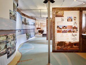 Parcours d'exposition dédié à la ville de Saint-Laurent-du-Maroni, années 2010, David Foessel.