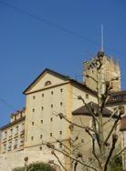 Fig. 6 Tour des prisons 10e-1845 et Prison de Neuchâtel 1828-1995. © D. Fink