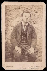 Portrait photographique de Troppmann par Jules Verrier, Collection Philippe Zoummeroff/Criminocorpus (ancienne collection Romi)