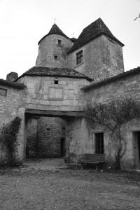 Accès à la tour de la « librairie » de Montaigne
