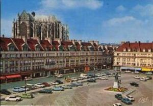 Photographie de Beauvais après la reconstruction (alain.tairnaite.free.fr)