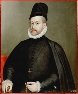 Felipe II de Sofonisba Anguisola