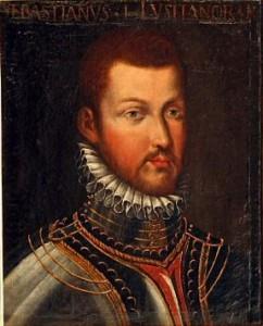 Don Sebastián. Óleo de fines del siglo XVI